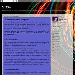 MQSA: Noël et les autres religions