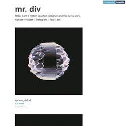 mr. div
