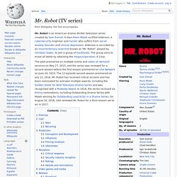 Mr. Robot (TV series) - Wikipedia