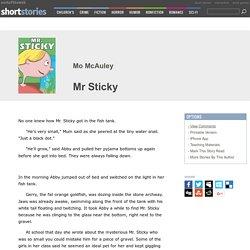 Mr Sticky by Mo McAuley