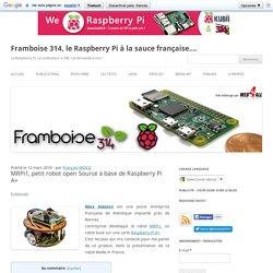 MRPi1, petit robot open Source à base de Raspberry Pi A+