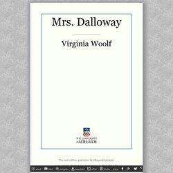 Mrs. Dalloway / Virginia Woolf