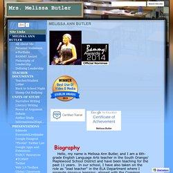 Mrs. Melissa Butler