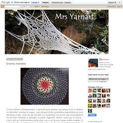 Mrs Yarnart: Granny mandala