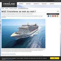 MSC Croisières se met au vert !