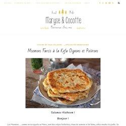 Msemens Farcis à la Kefa Oignons et Poivrons – Maryse & Cocotte