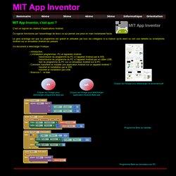 MTI App Inventor