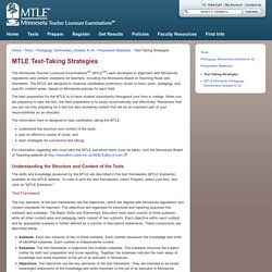 MTLE Test-Taking Strategies