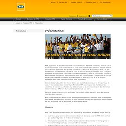 FAQ MTN fondation