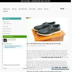 Mua giày nam giá rẻ tại hà nội - Shop giày Big Sale lớn dịp tết 2017