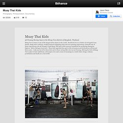 Muay Thai Kids on the Behance Network