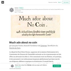 Much ado about no coin