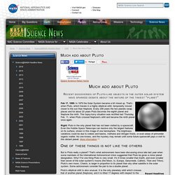 Much ado about Pluto