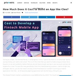 How Much Does it Cost to Build an App like Cleo?