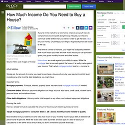 How Much Income Do You Need to Buy a House?