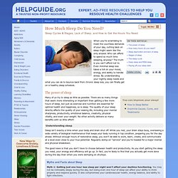 Understanding Sleep: Deep Sleep, REM Sleep, Cycles, Stages, and
