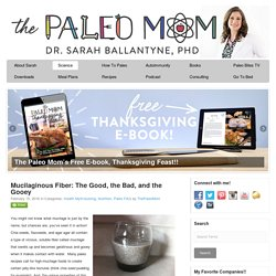 Mucilaginous Fiber: The Good, the Bad, and the Gooey - The Paleo Mom