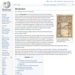 Muckraker