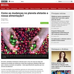 Como as mudanças no planeta afetarão a nossa alimentação? - BBC Brasil
