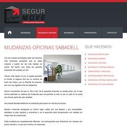 MUDANZAS OFICINAS SABADELL