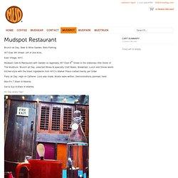 Mudshop - Mudspot Restaurant