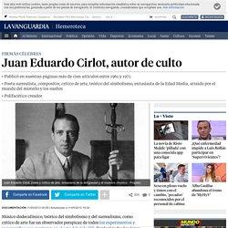 Muere Juan Eduardo Cirlot, poeta y crítico de arte