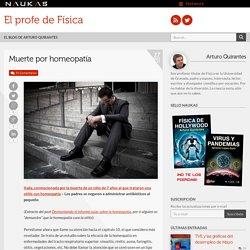 Muerte por homeopatía