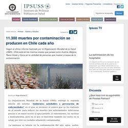 11.300 muertes por contaminación se producen en Chile cada año - IPSUSS