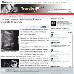 Las tres muertes de Masahisa Fukase, fotógrafo de cuervos