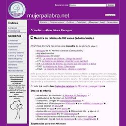 Muestra de relatos MIL VOCES (adolescencia) - Alvar Mora Pereyra - Creación en Mujer Palabra