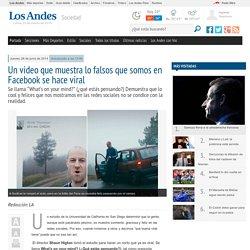 Un video que muestra lo falsos que somos en Facebook se hace viral