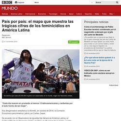 País por país: el mapa que muestra las trágicas cifras de los feminicidios en América Latina - BBC Mundo
