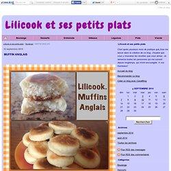 MUFFIN ANGLAIS - Lilicook et ses petits plats