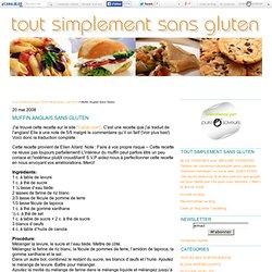 Muffin Anglais Sans Gluten - Tout Simplement Sans Gluten