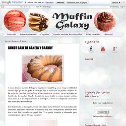 BUNDT CAKE DE CANELA Y BRANDY