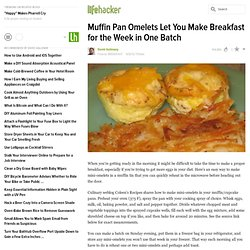 Muffin Pan Omelets Let You Make Breakfast for the Week in One Batch