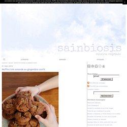 Muffins très amande au gingembre confit