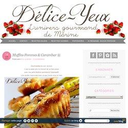 Muffins Pommes & Carambar ® - Bienvenue sur Délice-Yeux - L'univers gourmand de Marine