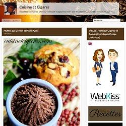 Muffins aux Cerises et Pâte d'Azuki