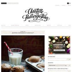Muffins châtaigne et chocolat