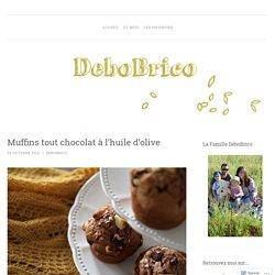 Muffins tout chocolat à l'huile d'olive
