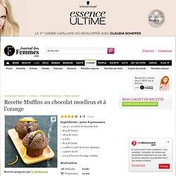 Muffins au chocolat moelleux et à l'orange