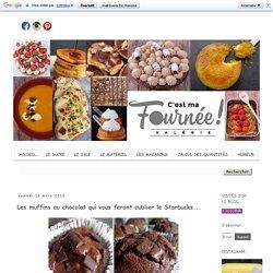 Les muffins au chocolat qui vous feront oublier le Starbucks...
