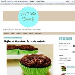 Muffins de Chocolate. La receta perfecta.