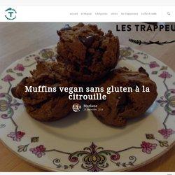 Muffins vegan sans gluten à la citrouille - Les Trappeuses