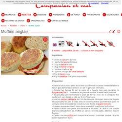 Muffins anglais recette companion moulinex