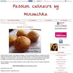 Muffins à la mangue