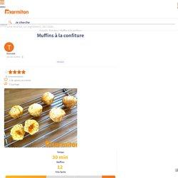 Muffins à la confiture : Recette de Muffins à la confiture