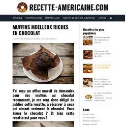 Muffins moelleux riches en chocolat