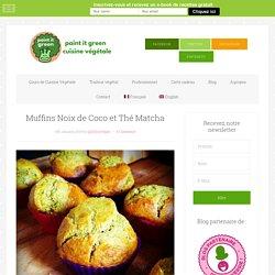 Muffins Noix de Coco et Thé Matcha